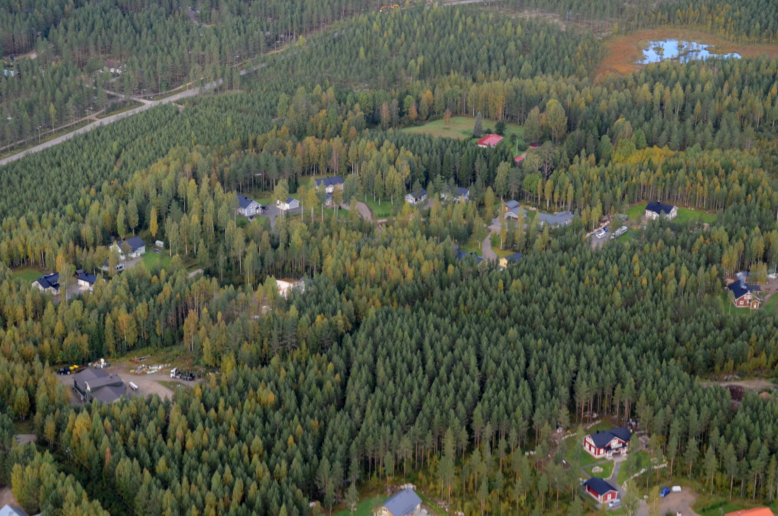 jyväskylän lentoasema Varkaus