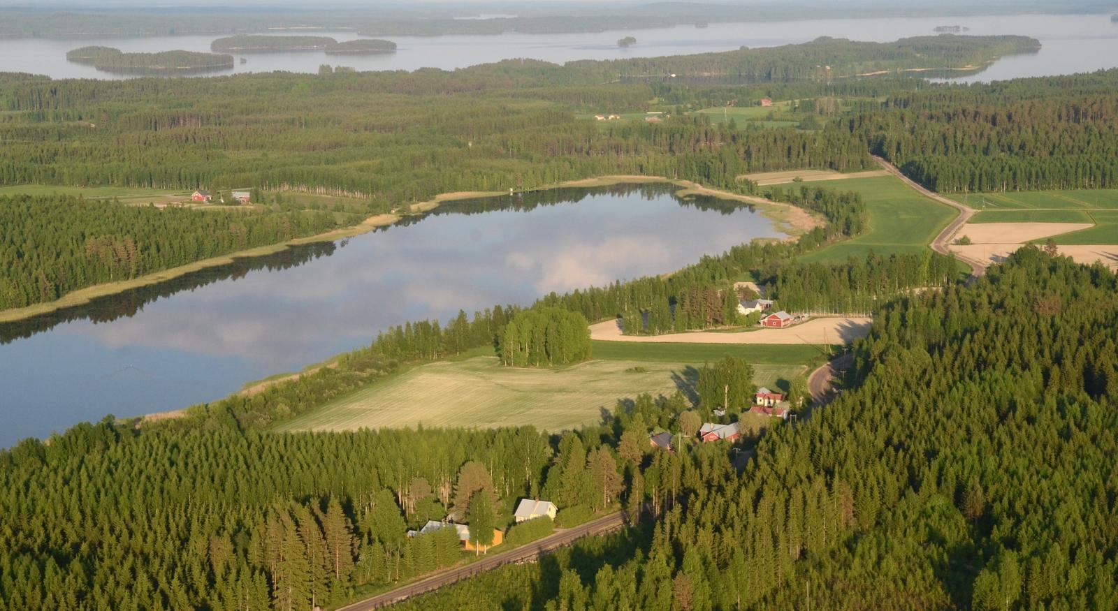 Lääminkijärvi.