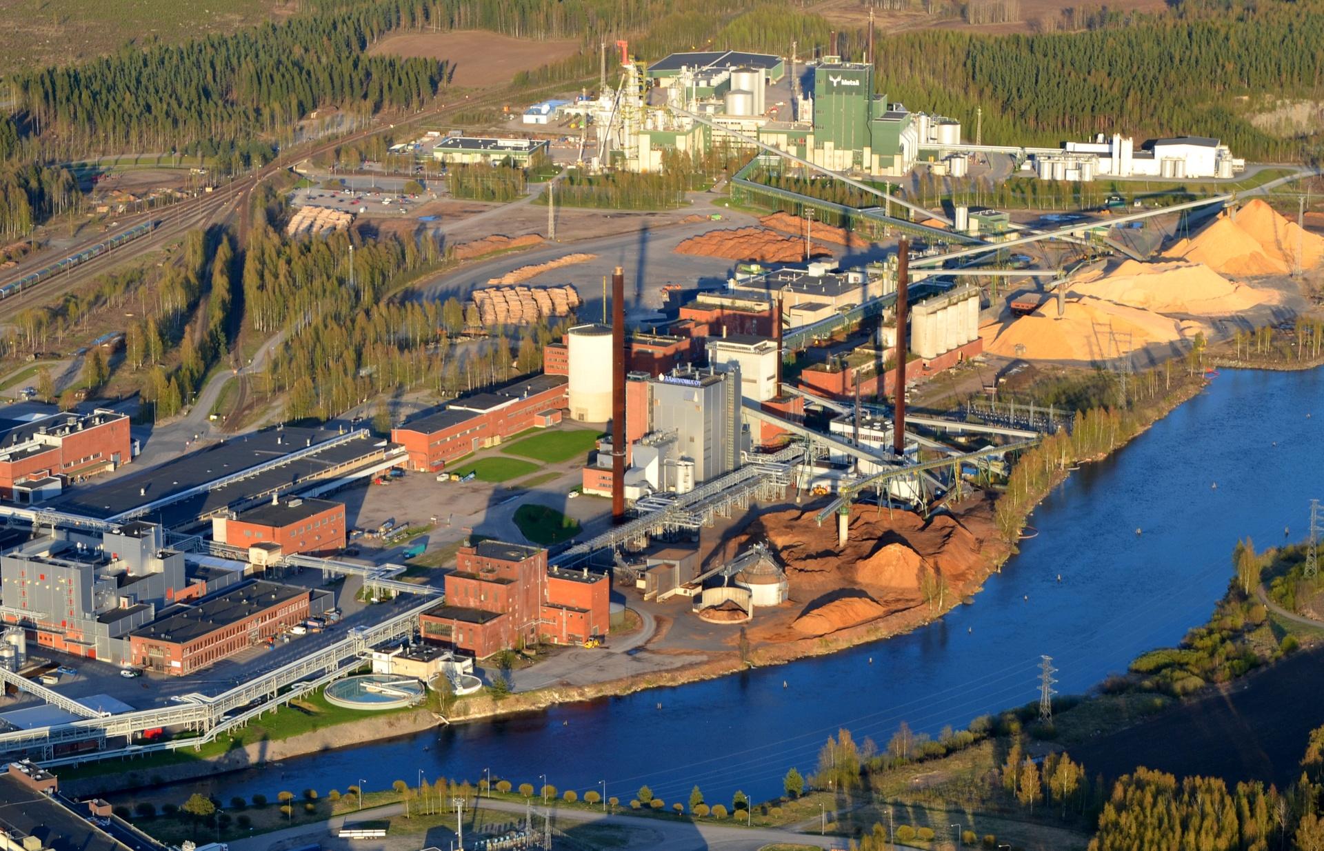 15.5.2014 Lähtötilanne uuden tehtaan rakentamiseen.