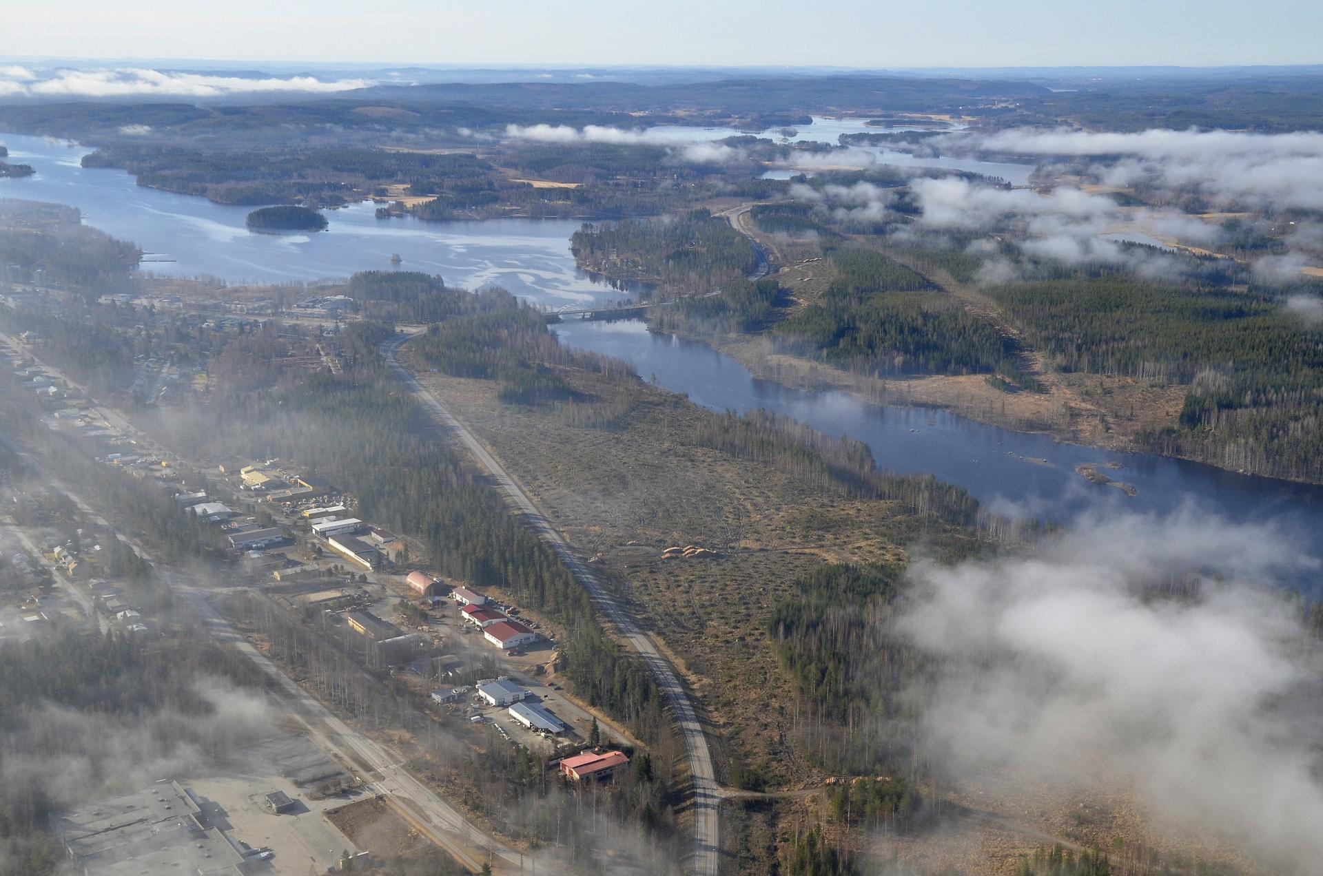 2017-05-14 Äänekosken ohitustien teko aloitettu.