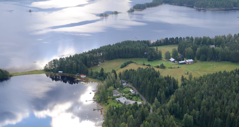 Nyt lähestytään keskustaa Pohjoisesta. Pohjoisniemi ja Rantue.