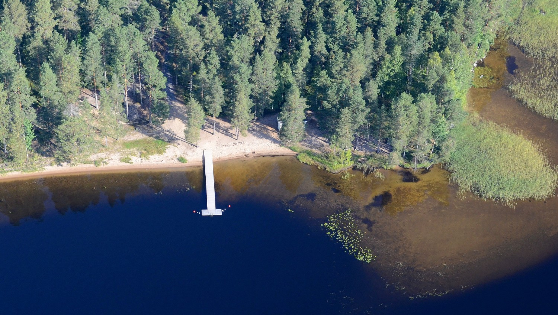 Pohjoishiekan uimaranta.