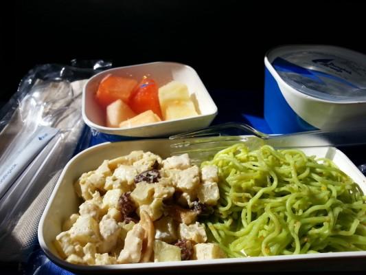 Bangkok Airwaysin kulinarismia