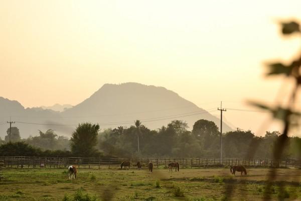 Viimeinen auringonlasku Vang Viengissä