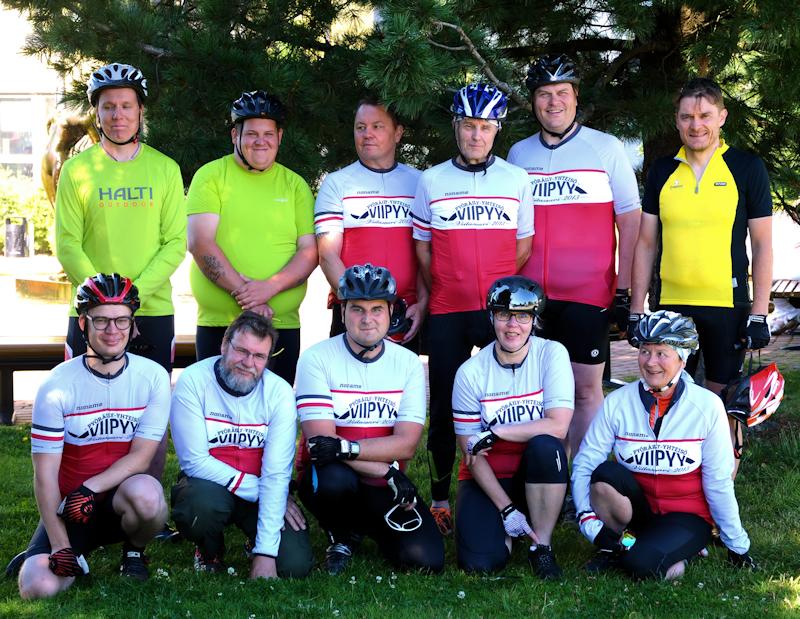 Viitasaaren pyöräily-yhteisöä 2015