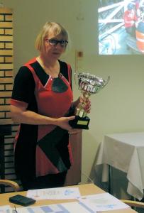 Viitasaaren vuoden pyörälyteko palkinto 2015 ojennettiin Seija Ruuskalle