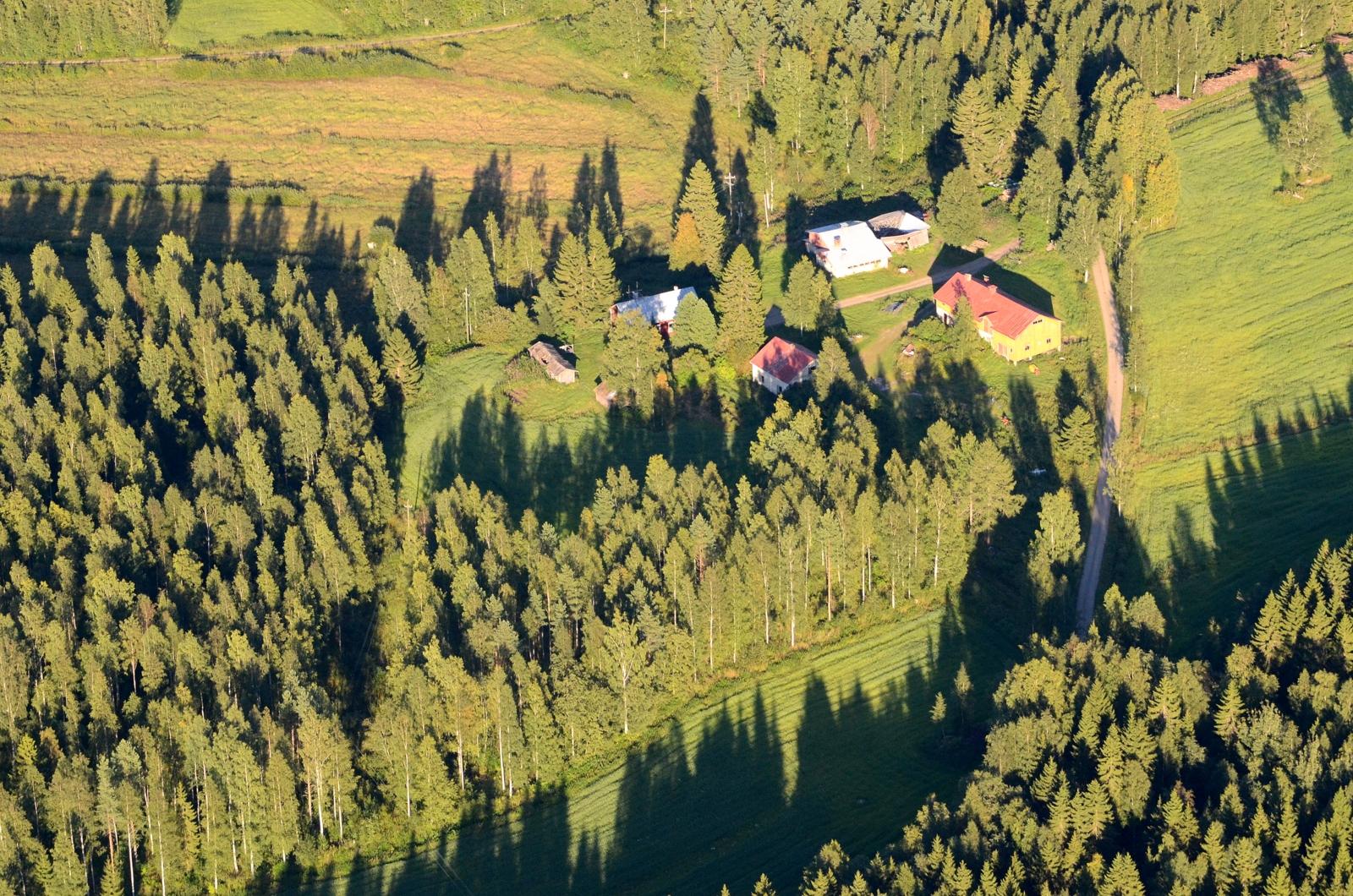 Seläntaus Lepistönkylällä