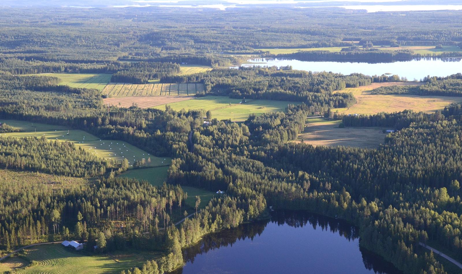 Lähimpänä Sorvajärvi Haaralassa
