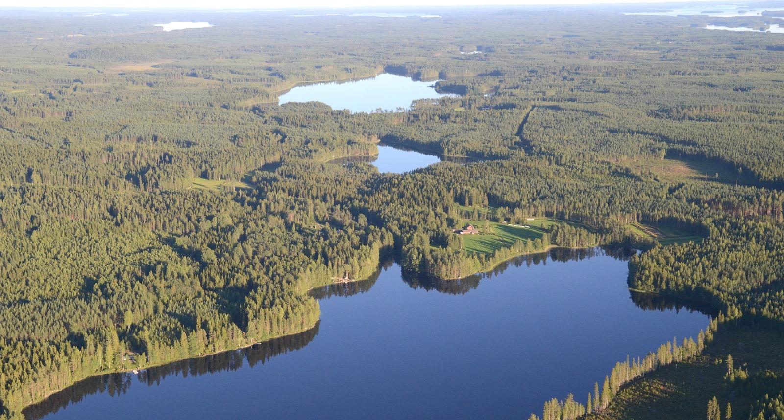 Ristijärvi, Matolampi ja Kaijanjärvi