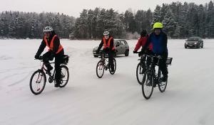 """24.1.2016 viipyyläisiä """"Tour de Jäätiet"""" talviklassikossa"""