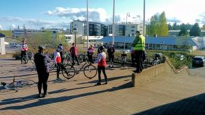 Päättäjäpyöräily 2016 (Kuva: Petri Kuntsi 2016)