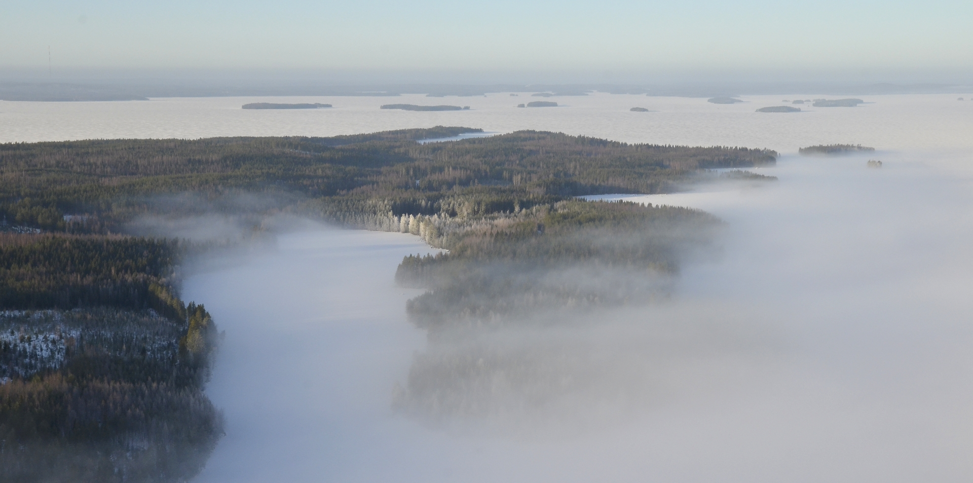 Sorkanlahti Järkiniemen ja Sorkanniemen kainalossa.