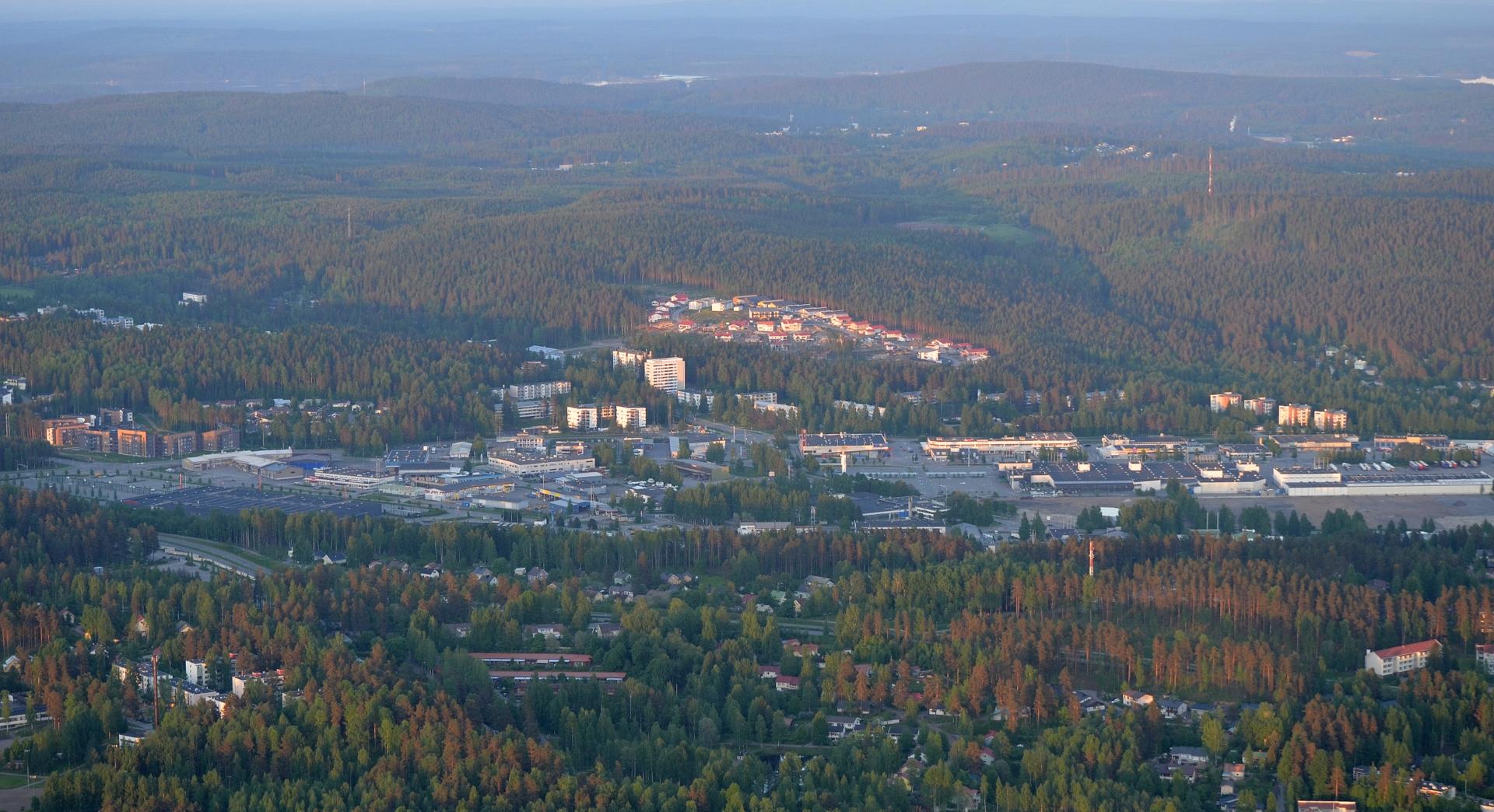 Seppälää ja Kangasvuori.