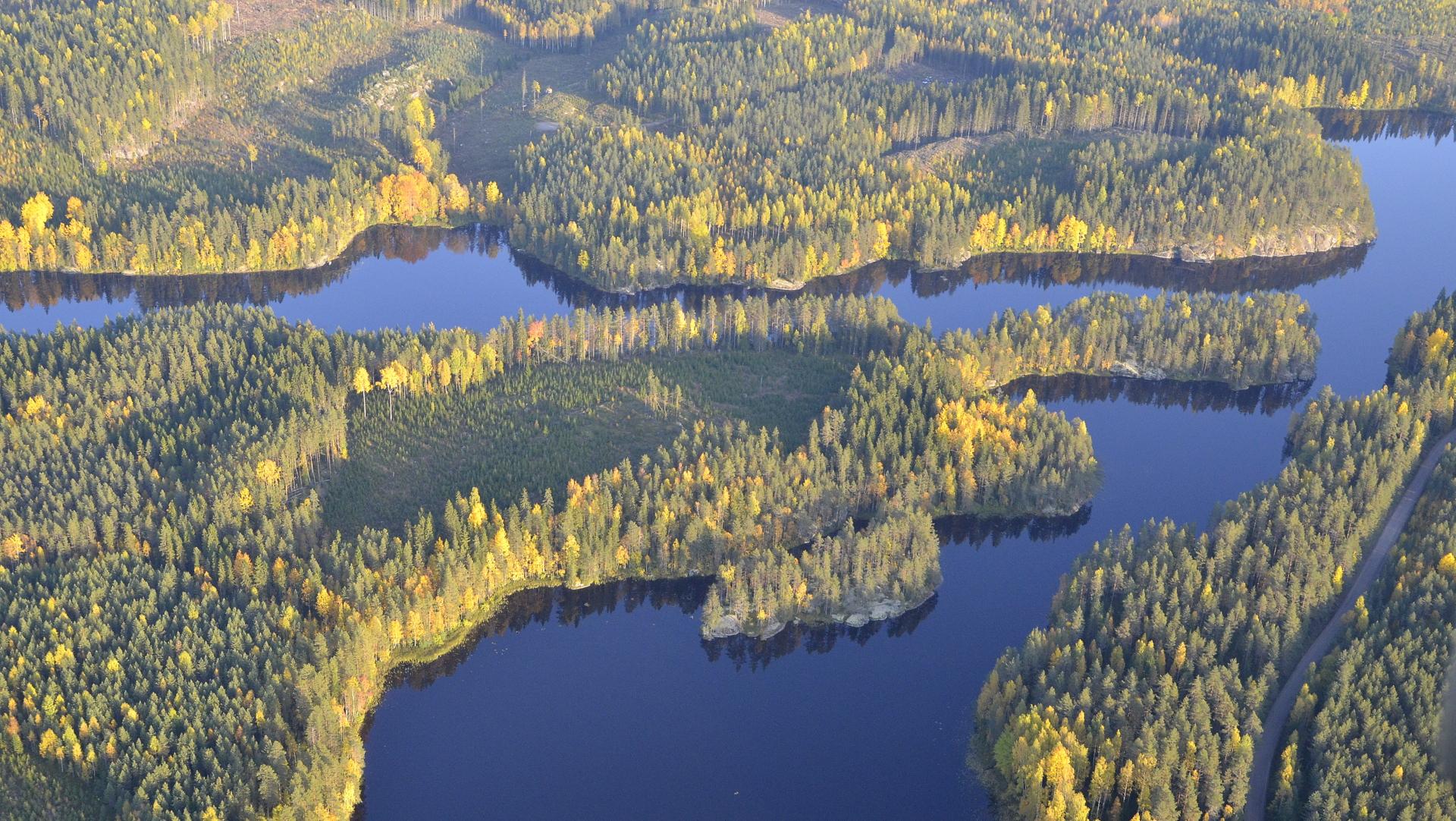 Ilmojärvi Kärnä-Kymö koskireitillä.