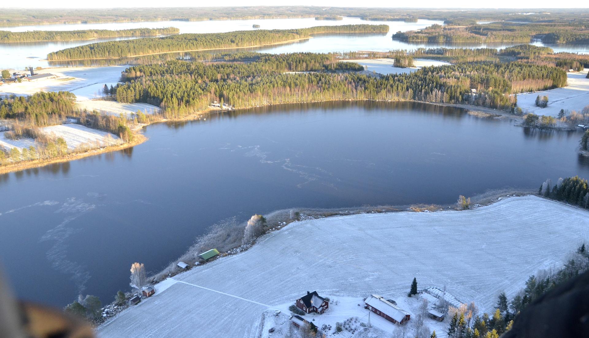 Pasalajärvi 1.11.17.