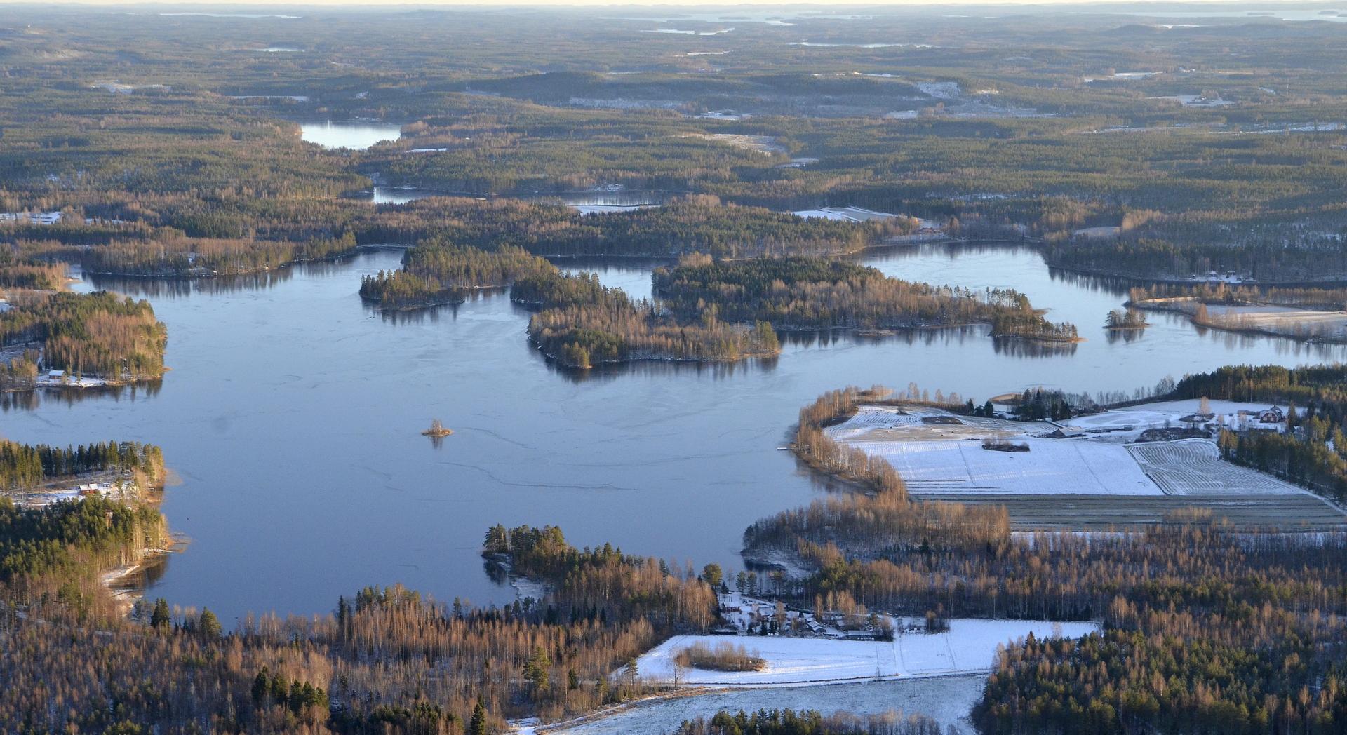 Mäntyjärvi 1.11.2017.