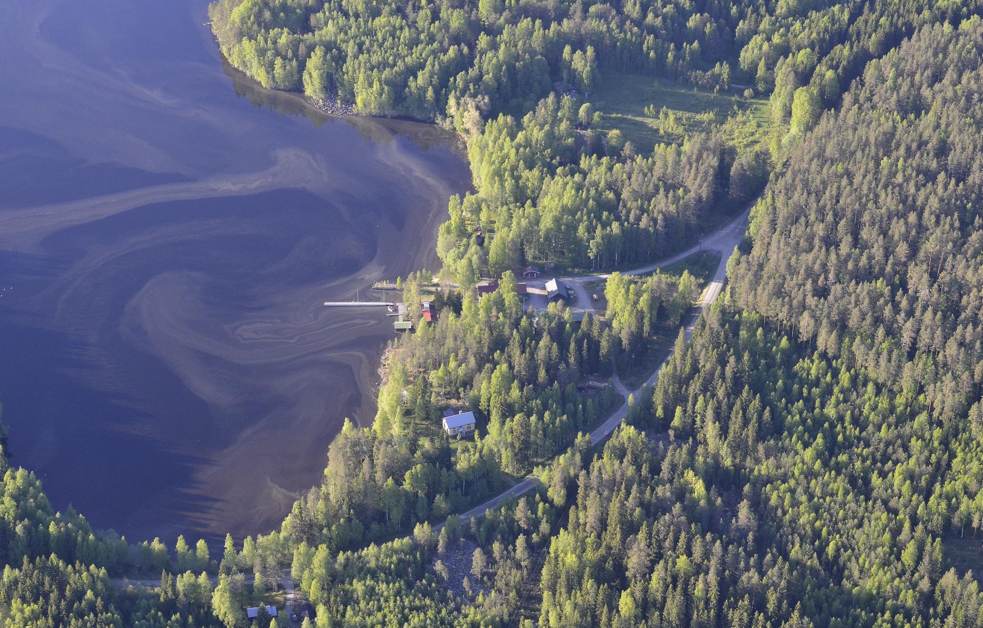 Pyhälahden satama ja entinen kauppa.
