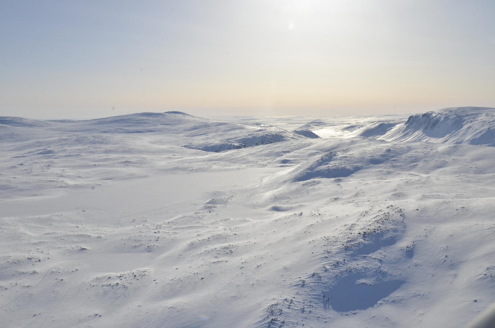 Salmijärvi ja Salmikuru.