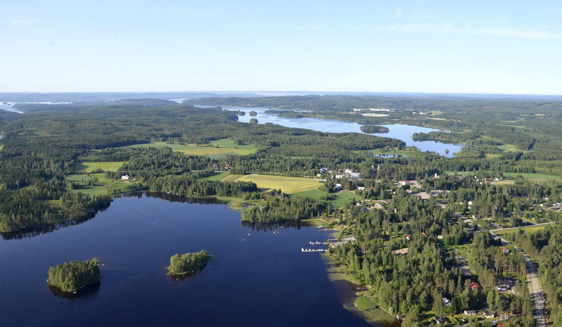Aamulento Konginkankaalla ja taas Suviseurat 2018 suuntaan.