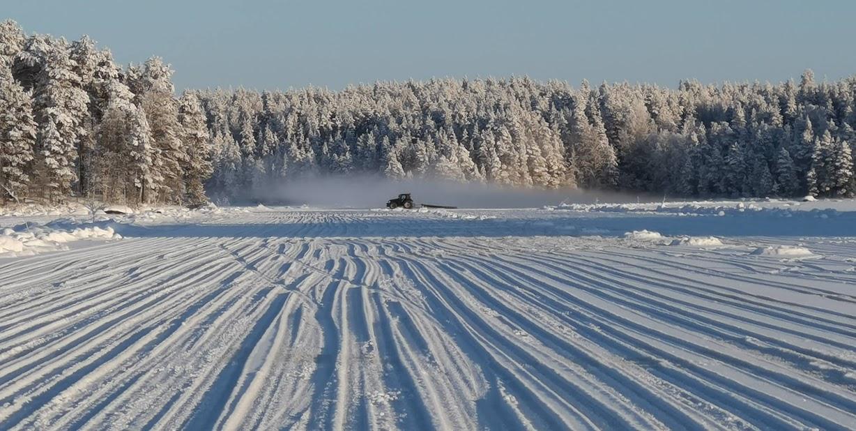 Jäädytystä kun talvi oli talvinen:)