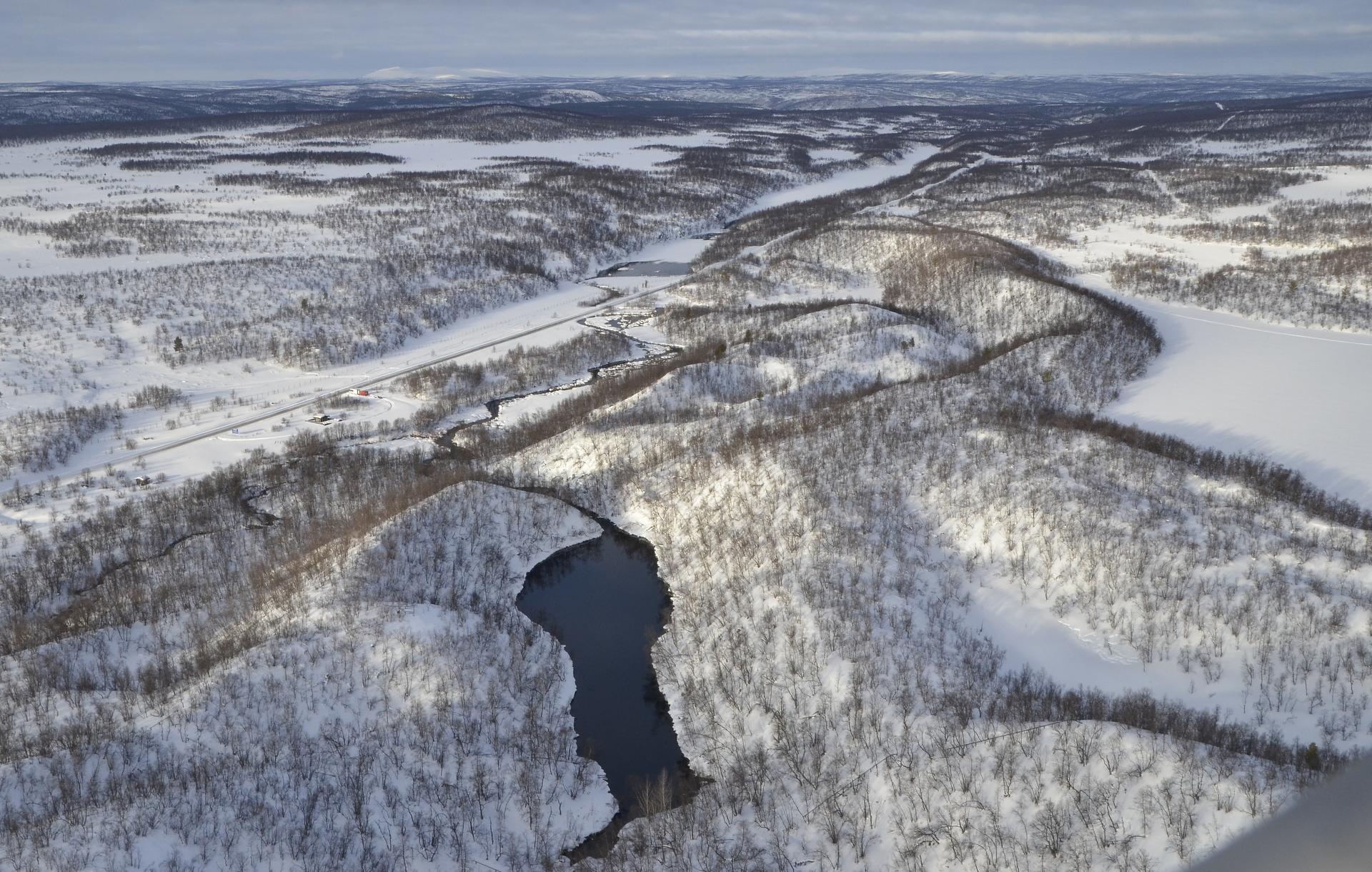 Tässä kuva Suomen suurimmasta lähteestä Suttesgáldusta