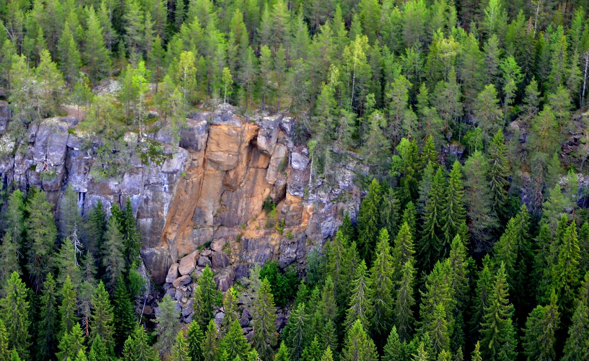 Kallio on sortunut muutama vuosi sitten.