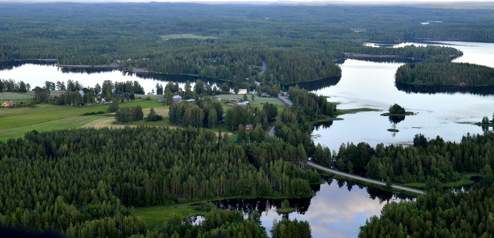 Saarenkylän salmi.