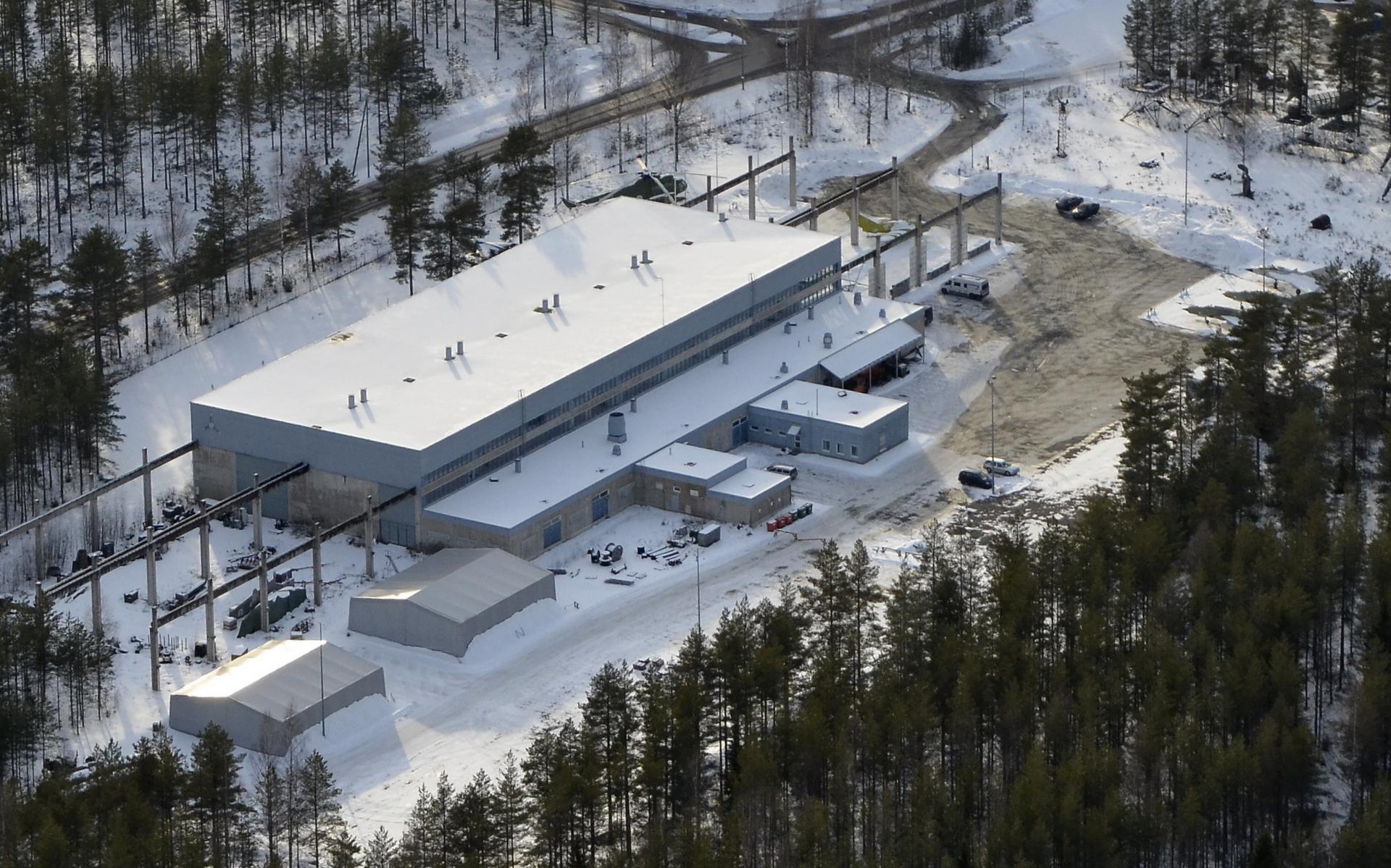 Tikkakoskentien varrella tämä Suomen Ilmavoimamuseo.