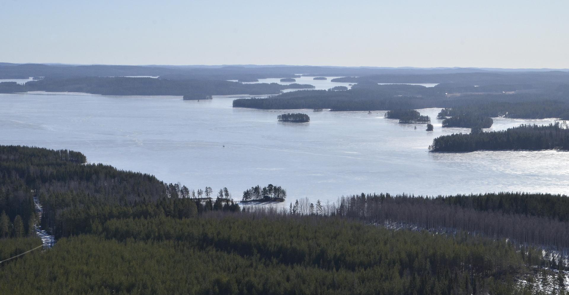 Näkymä Sumiaisten suuntaan Kytänsalon päältä.