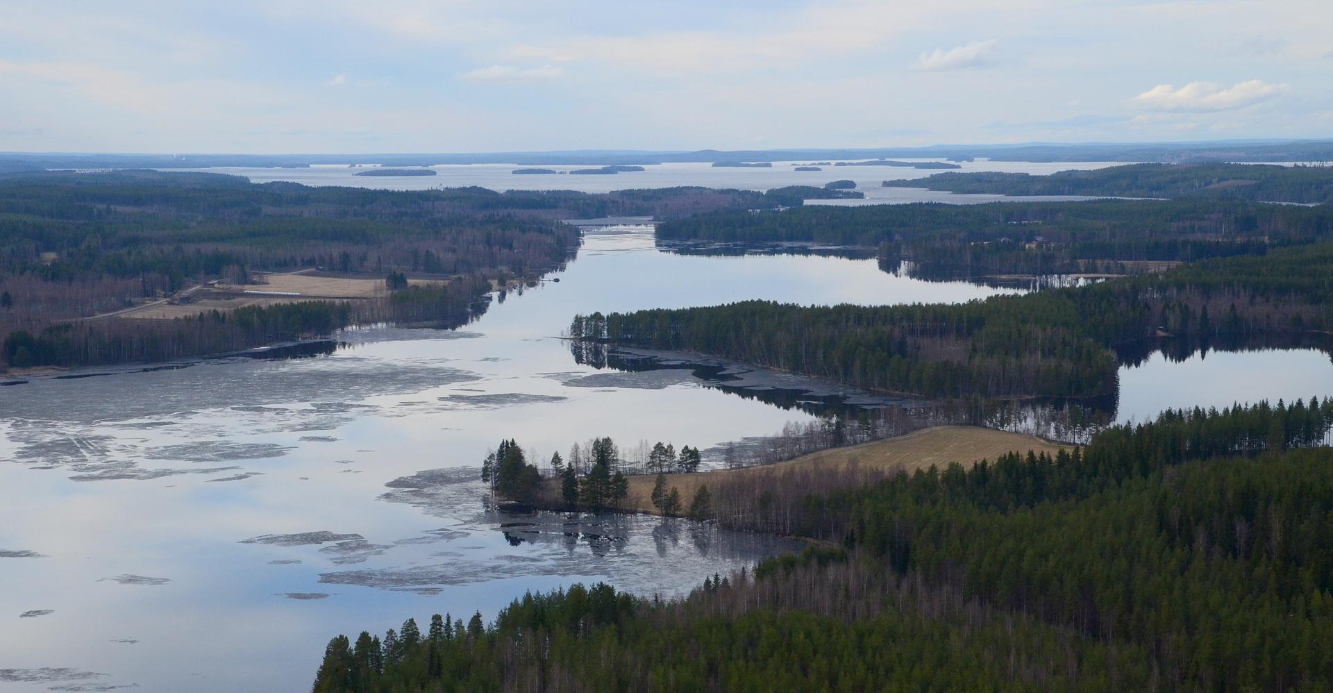 Houninniemi, Kattilaniemi, Vapaniemi. 29.4.2016