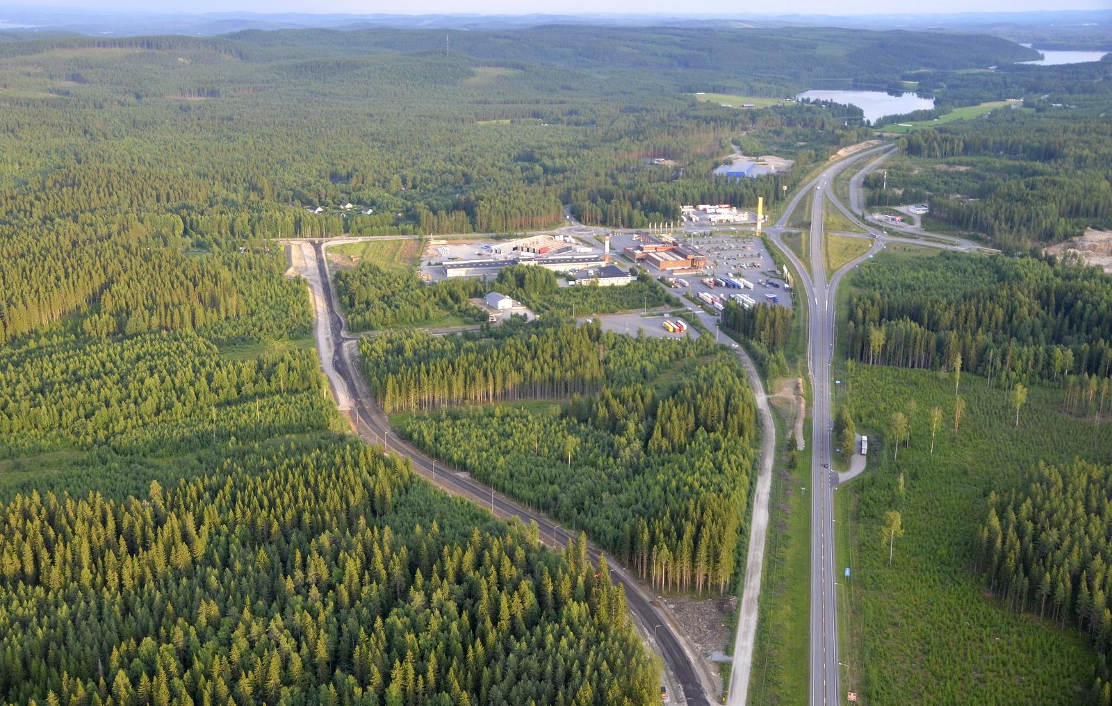 Rannankyläntien paikka on siirretty tuohon uuteen kohtaan vasemmalle.