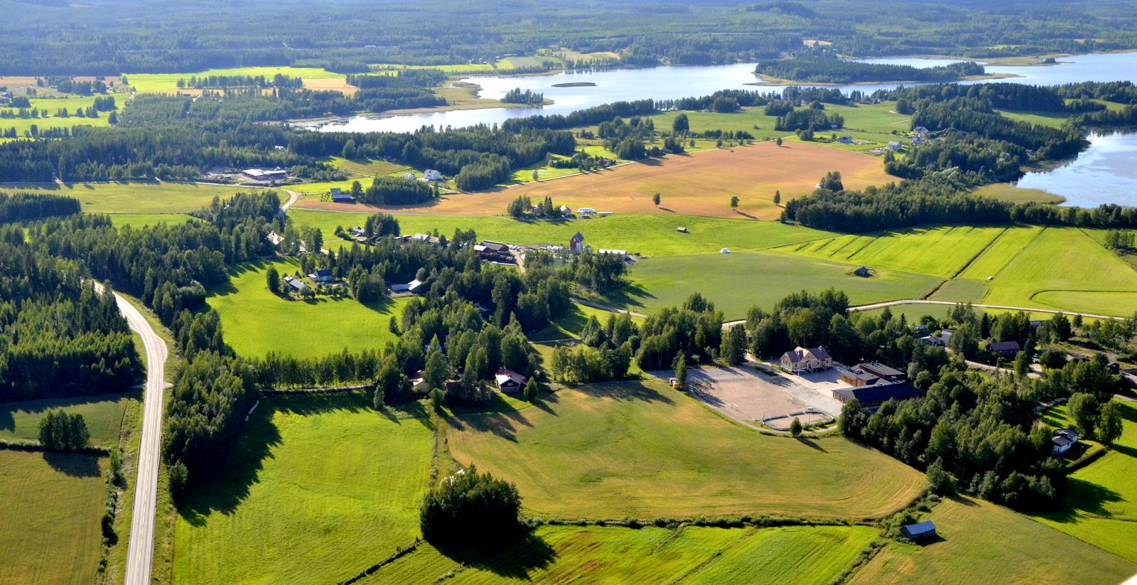 Lento alkoi taas kotikylältä Äänekosken Koivistolta.