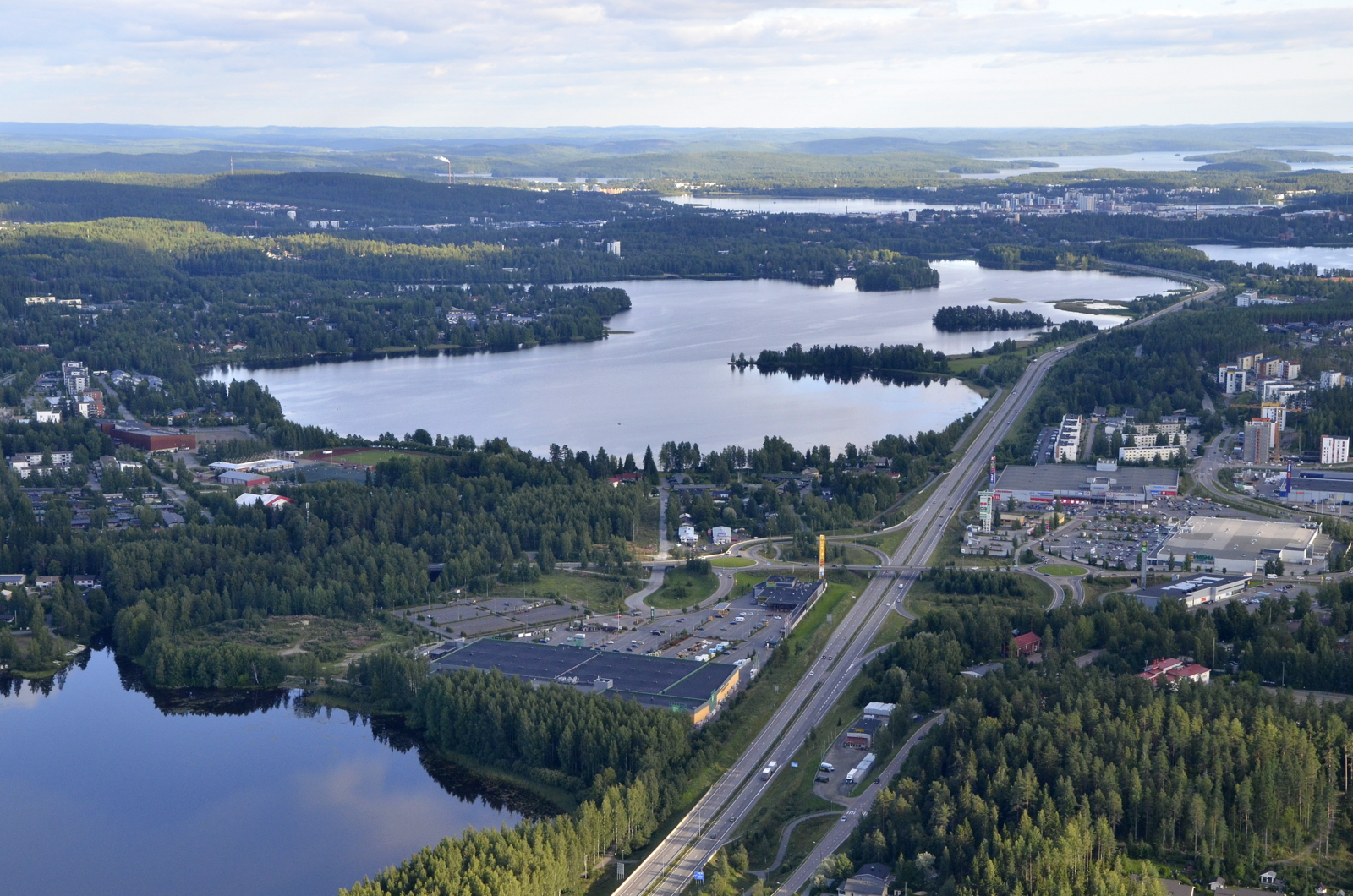 Palokkajärvi.