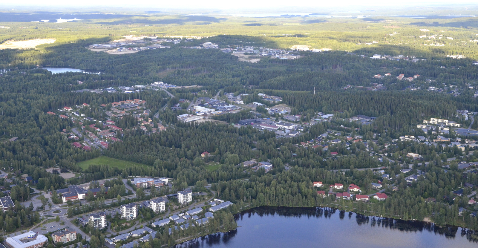 Näkymää Seppälänkankaan suuntaan.