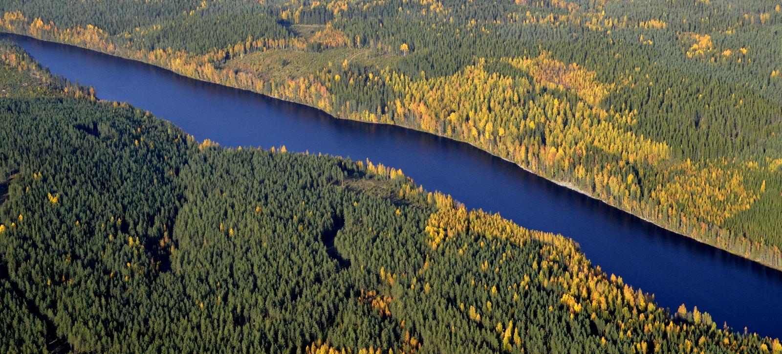 Keskimmäinen Vuorijärvi.