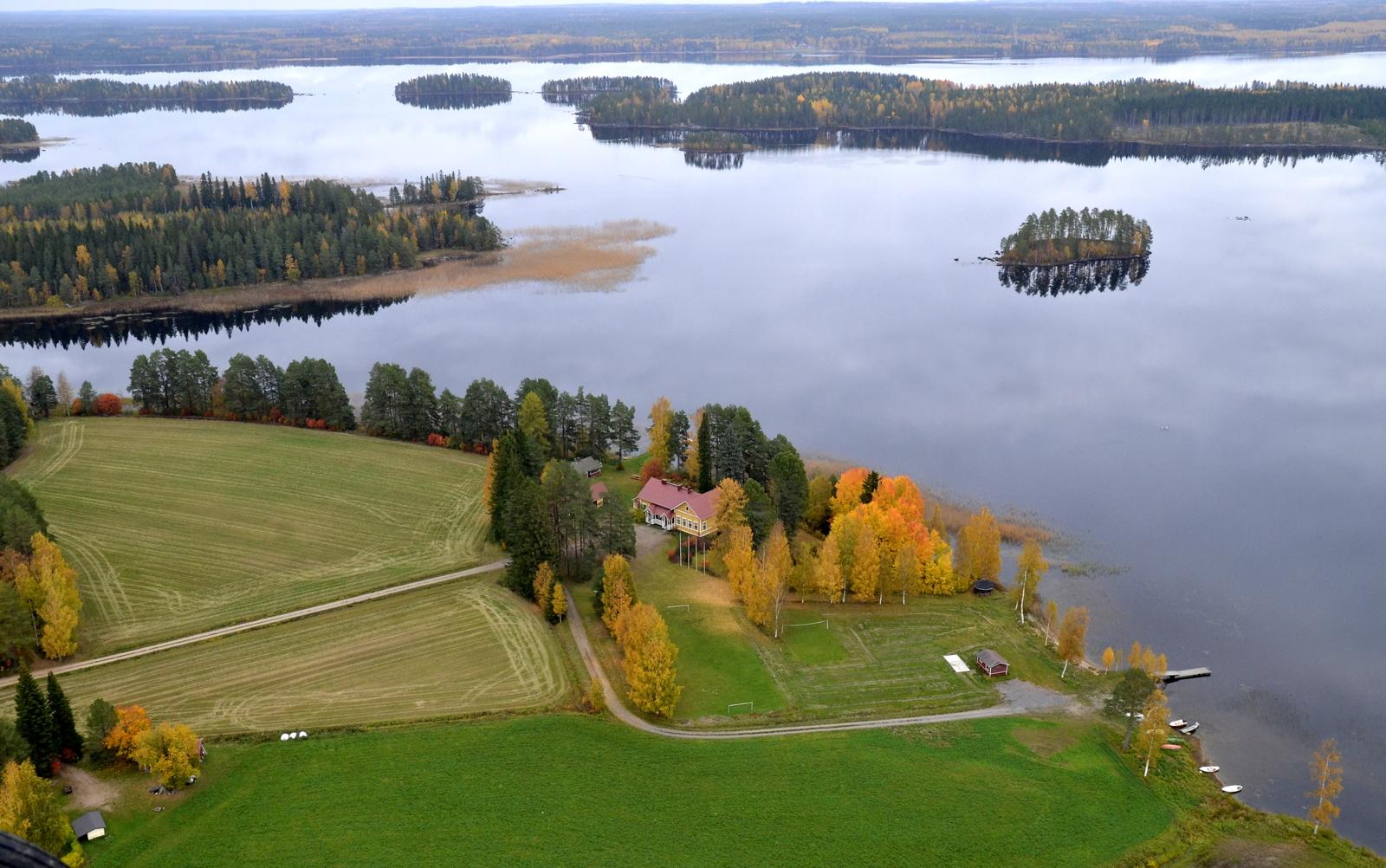 Koliman leirikeskus Pasala Viitasaari.