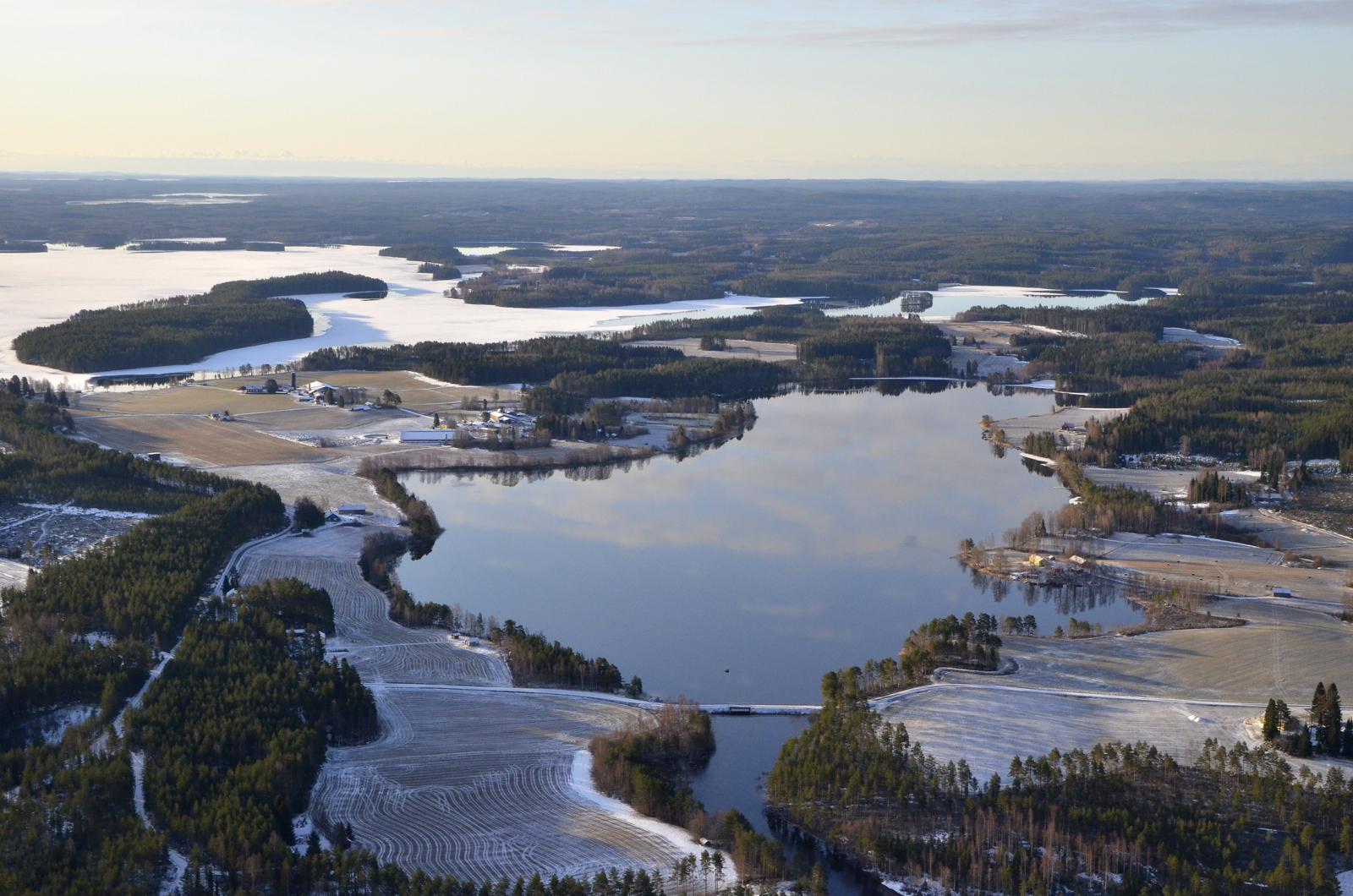 "Pasalajärvi jo sula ""etuajassa"""