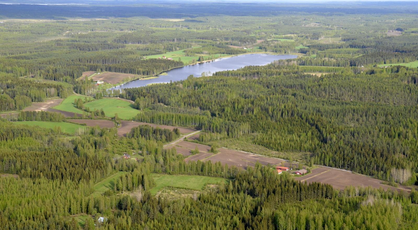 Heinolankylä ja Liesojärvi.